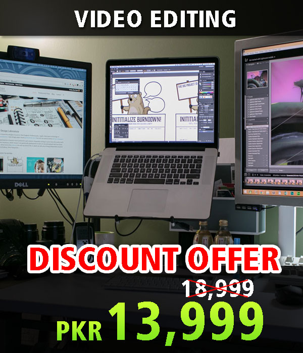Video Editing Motion Graphics Training in Lahore