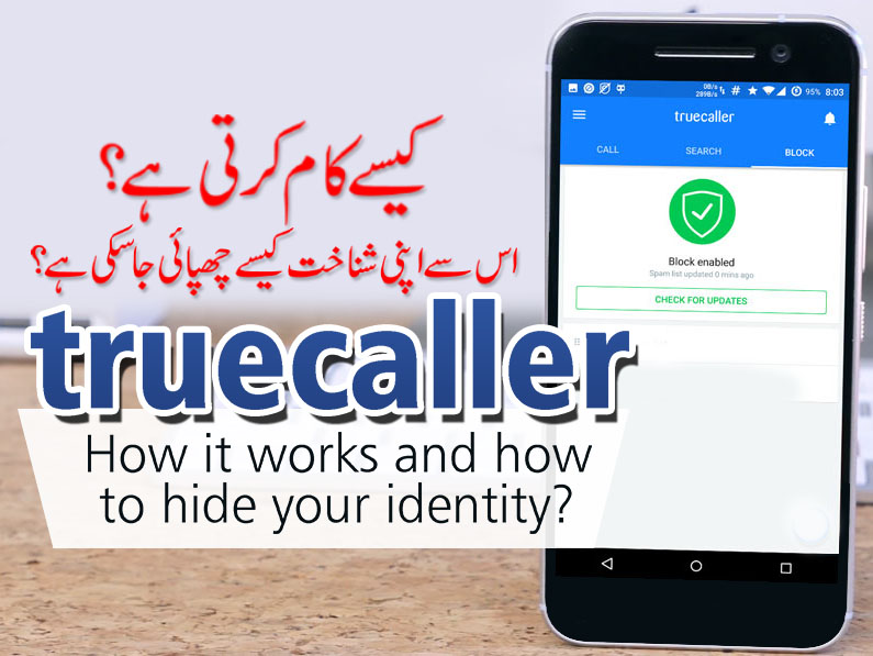 """How """"truecaller"""" app works?  How to hide your identity ?"""